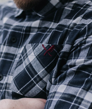 Classic Flanell Shirt flanell shirt by Distorted People
