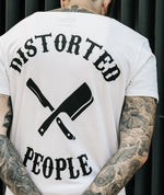 Cutted Neck Team long t-shirt by Distorted People