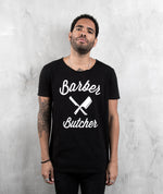 BB Blades Cutted Neck t-shirt by Distorted People