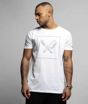 Decade Framed Blades grand crew neck t-shirt by Distorted People