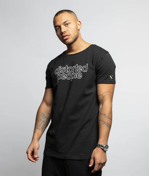 Decade Distorted People grand crew neck t-shirt by Distorted People