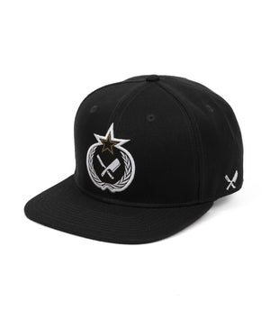 Russian Blades snapback cap by Distorted People
