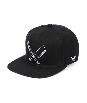 Line Blades snapback cap by Distorted People
