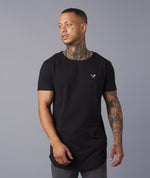 Blades Patch Crewneck Long T-Shirt