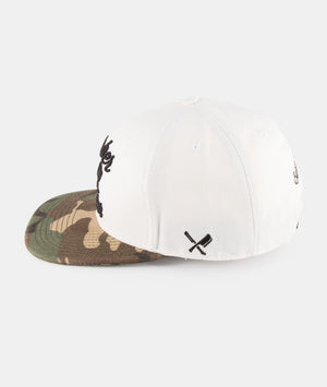 BB Blades snapback cap by Distorted People