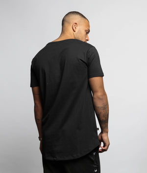 Decade Outline BB Blades grand crew neck long t-shirt by Distorted People