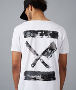 Camo Inked Blades Cutted Neck Long