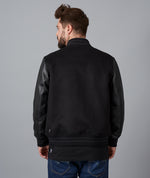Patched Wool Leather
