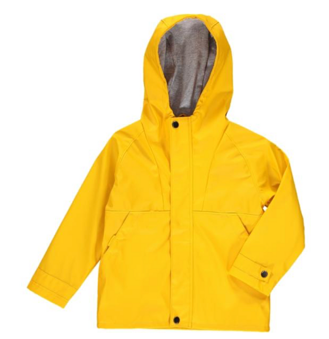 Splash Raincoat | Gold