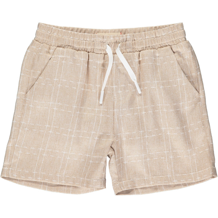 Surf Swim Shorts | Cream Grid