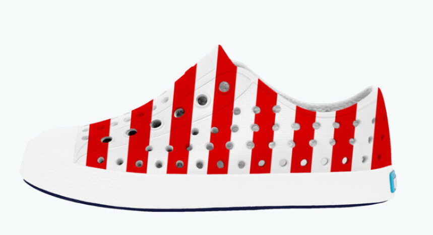 Jefferson American Flag Shoe