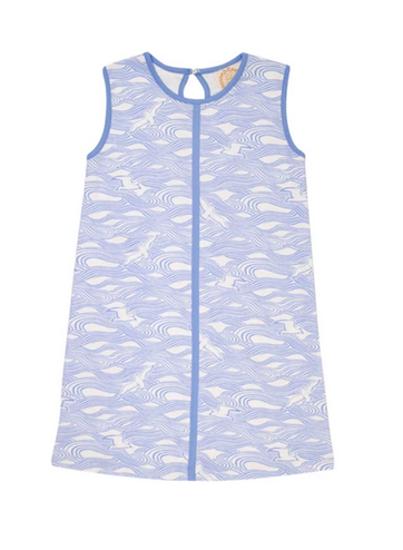 Daisy Dress Gull Play with Sunrise Boulevard Blue