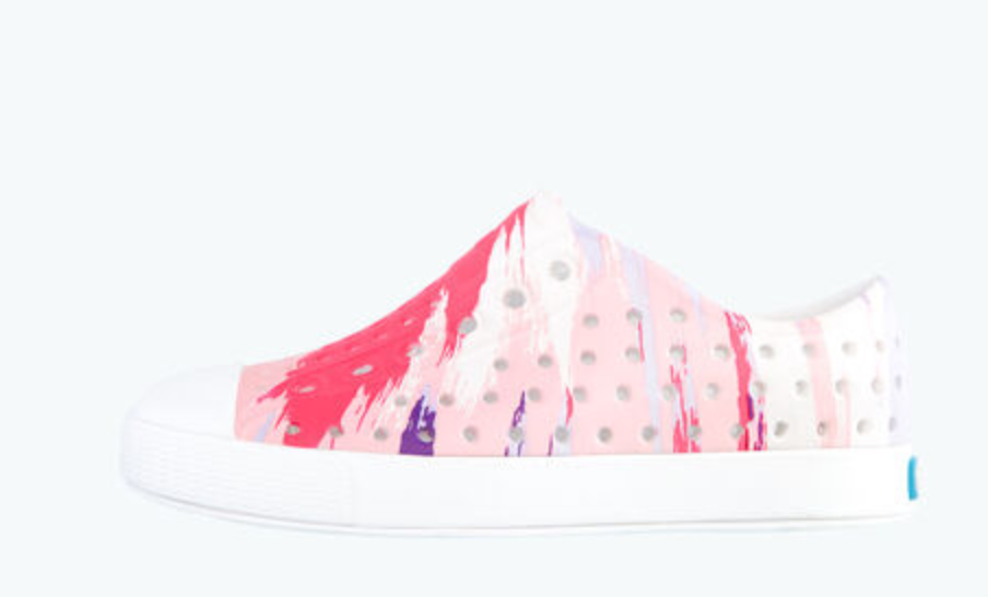 Jefferson Pink Multisplatter Shoe