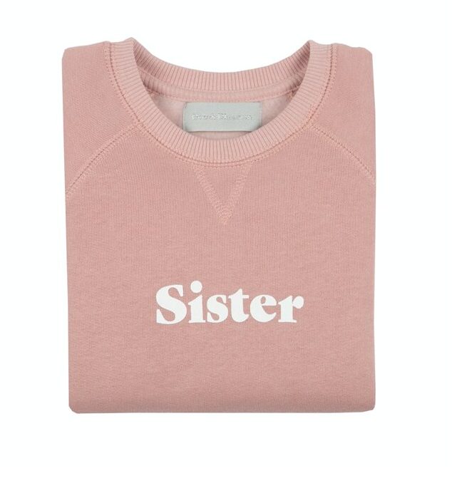 Faded Blush Sister Sweatshirt