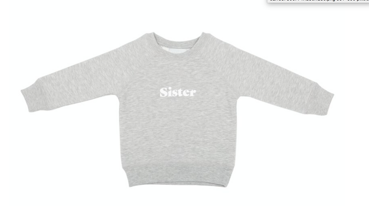 Grey Sister Sweatshirt