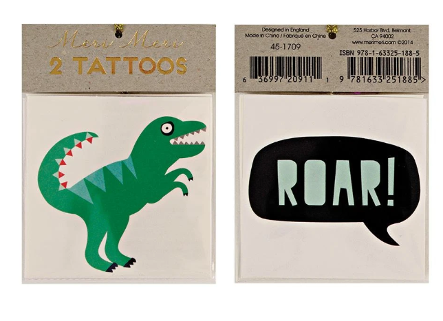 Small Set of Temporary Tattoos