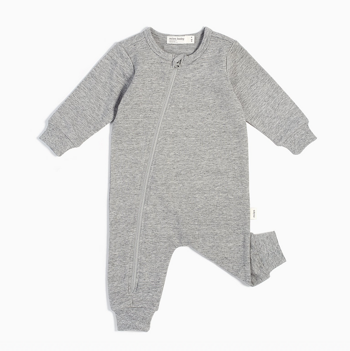 Heather Grey Playsuit