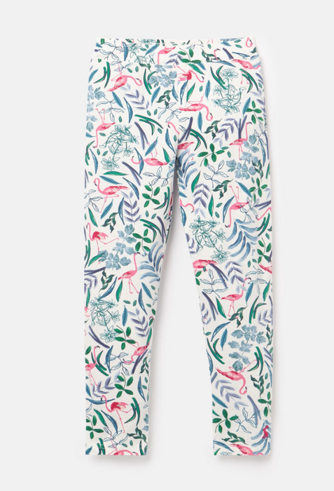 Deedee Printed Floral & Flamingo Leggings