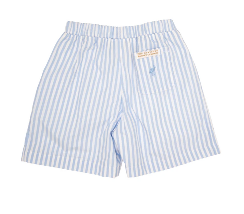 Boone Hall Blue Stripe Shelton Shorts