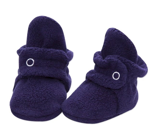 Fleece Zutano Booties | True Navy