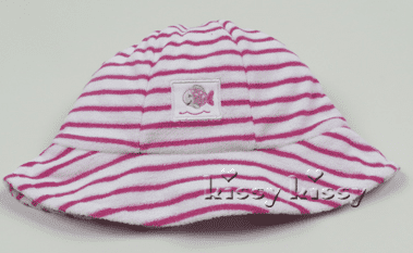 Whale of a Time Pink Stripe Sunhat