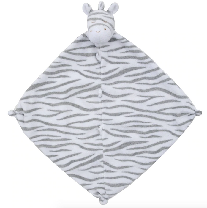 Grey Zebra Lovey