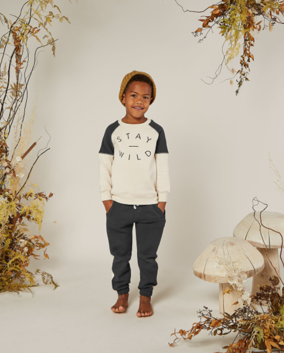 Stay Wild Raglan Sweatshirt