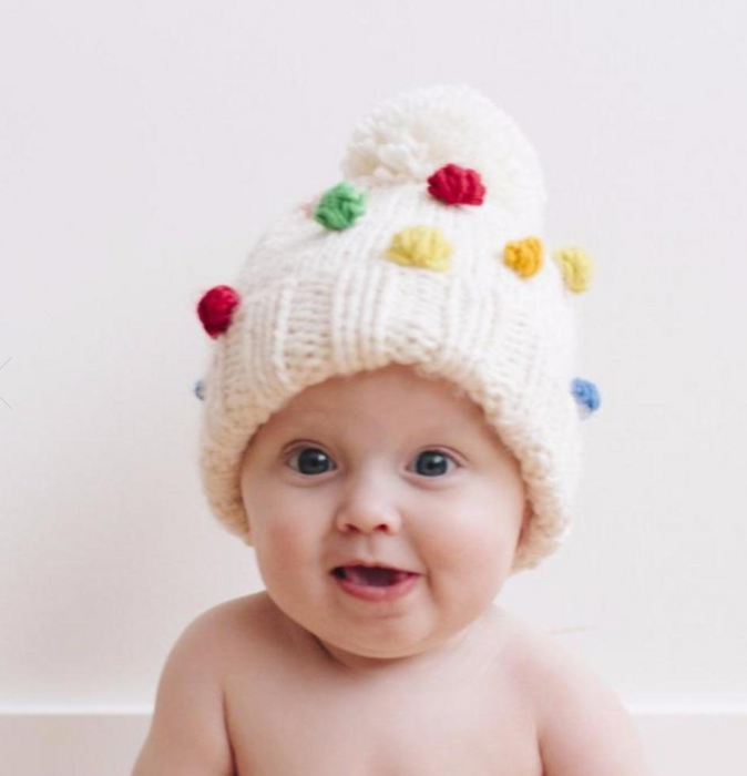 Percy Rainbow Dot Hat