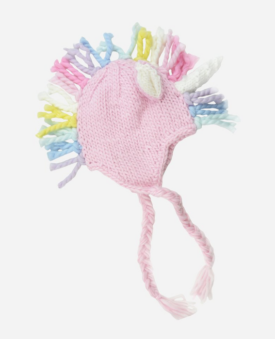 Ella Unicorn Hat- Pink