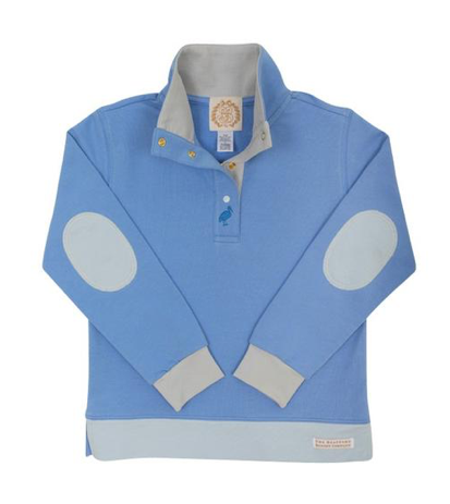 Pendleton Popped Collar | Park City Periwinkle/Barbados Blue with Grantly Gray