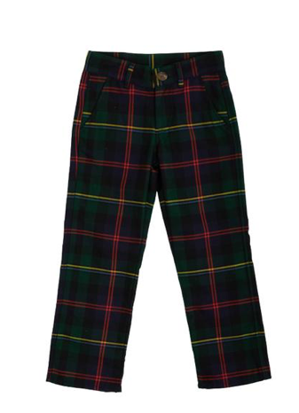 Prep School Pants | Horse Trail Tartan with Richmond Red Stork