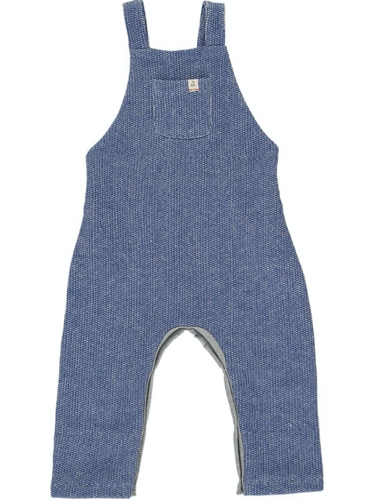 Blue Sweater Overalls