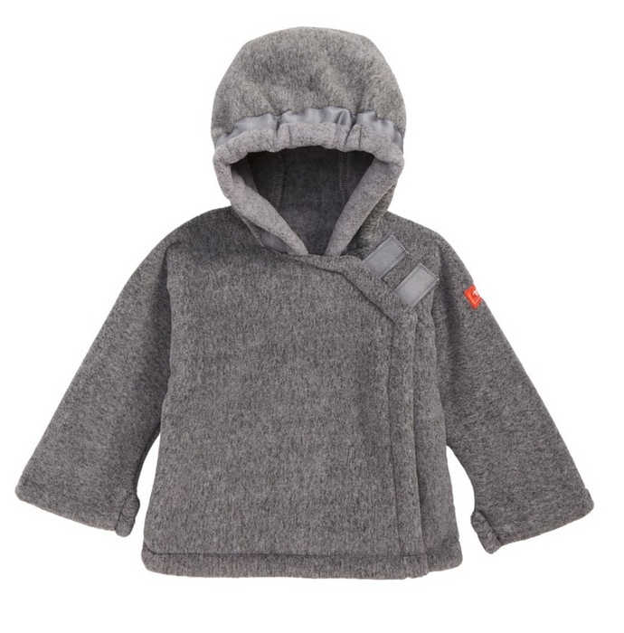 Heather Gray Widegon Jacket