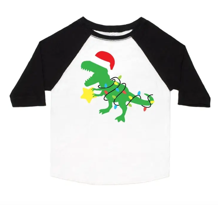Santasaurus Long Sleeve Shirt