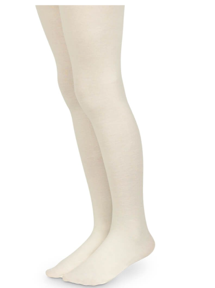 Jefferies Socks Pima Cotton Ivory Tights 1 Pair (1505)