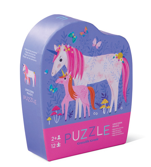 12 pc. Mini Puzzle | Unicorn Magic