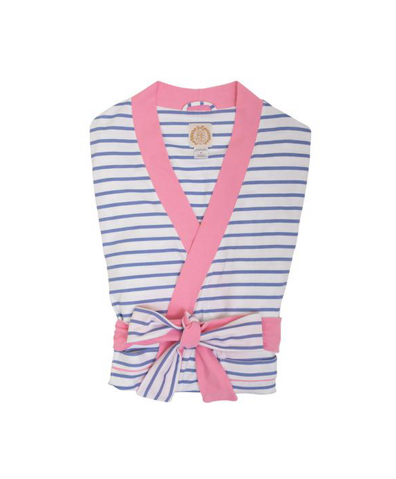 Ready or Not Robe | Park City Periwinkle Stripe