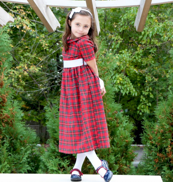 Holiday Red Plaid Dress