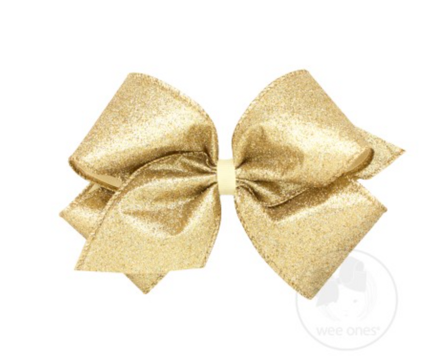 King Party Glitter Bow
