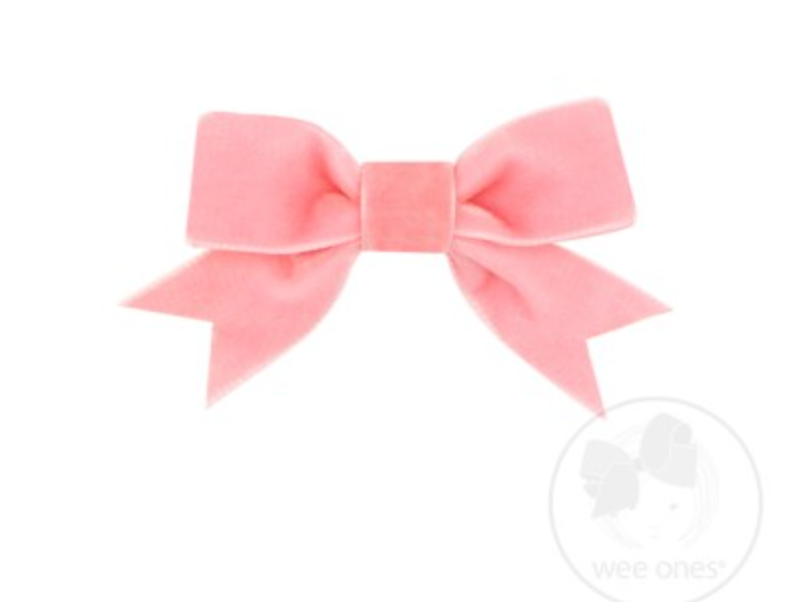 Mini Velvet Bow with Fancy Tail