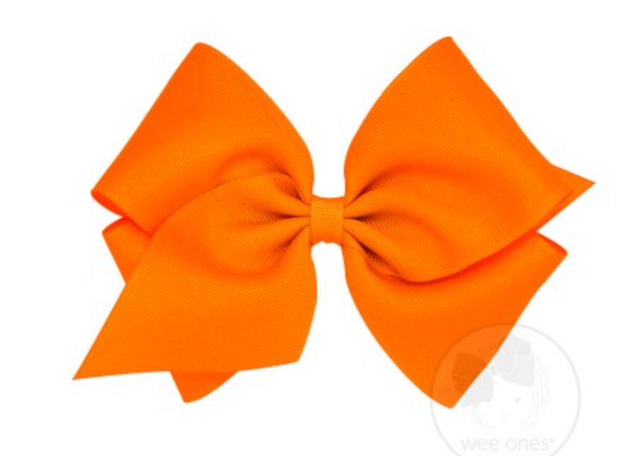 Mini King Grosgrain Bow