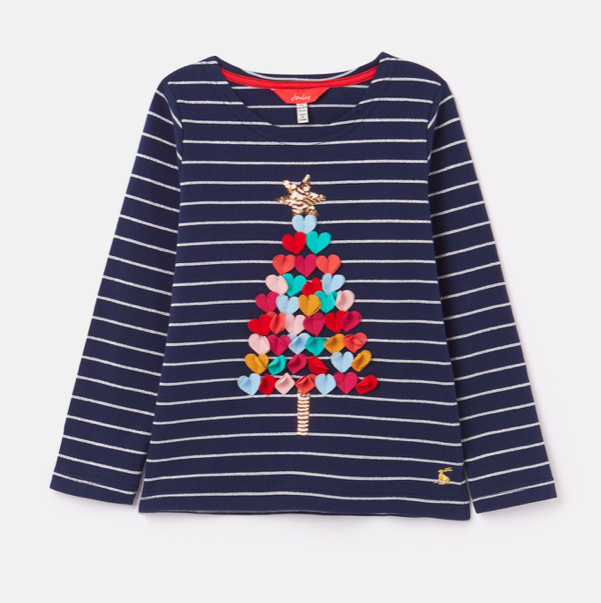 Harbour Luxe Long Sleeve Christmas Tree Top