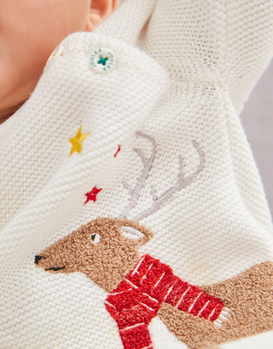 Reindeer Knitted Sweater