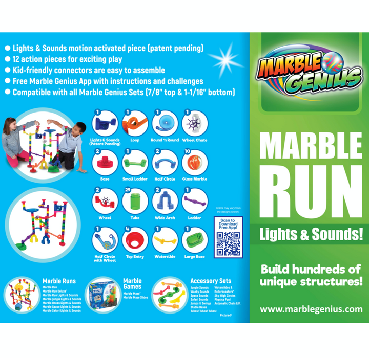 Marble Run Wacky Lights and Sound