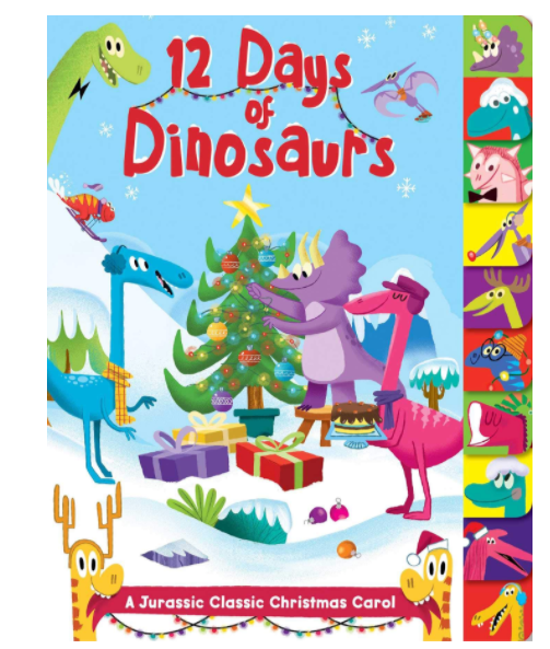 12 Days of Dinosaurs