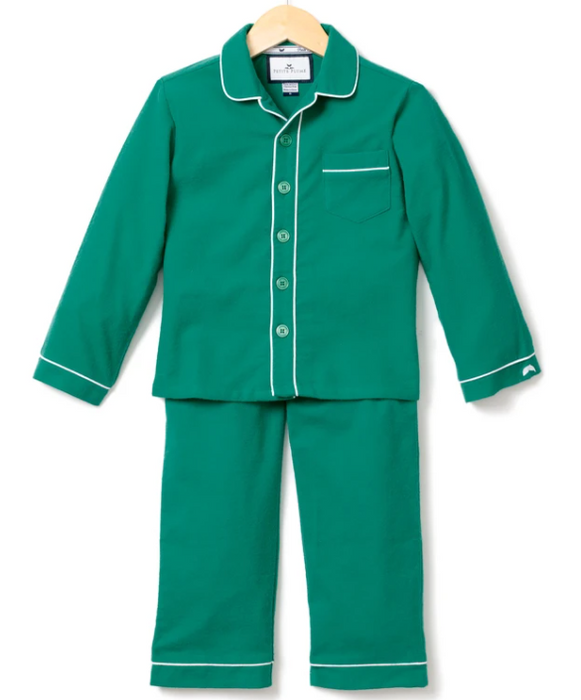 Holiday Pajama Set | Green