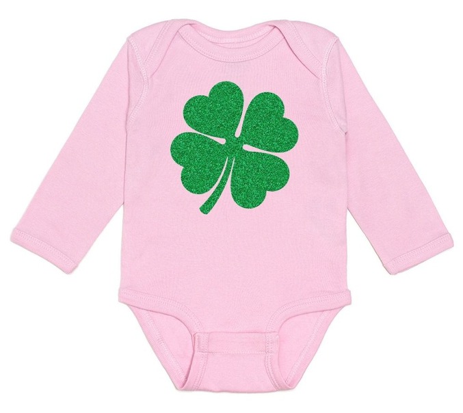 Shamrock Long Sleeve Bodysuit