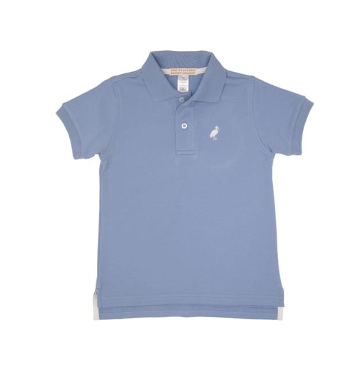 Prim and Proper Polo | Park City Perwinkle | Worth Avenue White Stork