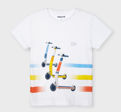 Short Sleeved Scooter T-Shirt | 3037