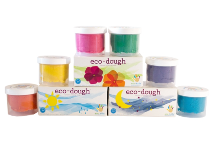 Eco-Dough 2 Pack Assorted Colors